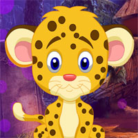 Free online flash games - G4K Mini Escape Game Baby Cheetah Rescue