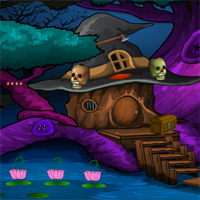 Free online flash games - G4E Halloween Forests Escape