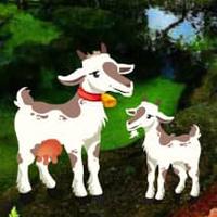Free online html5 escape games - Goat Family Escape HTML5