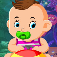 Free online flash games - G4k Jaunty Baby Rescue