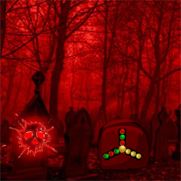 Free online flash games - Dangerous Red Forest Escape