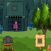 Free online flash games - Cute Girl Rescue From Forest