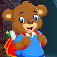 Free online flash games - G4K School Bear Rescue Escape