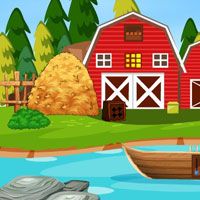 Free online flash games - G4E Farmhouse Pig Escape