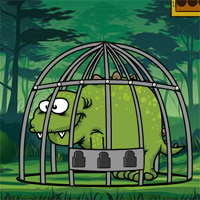 Free online flash games - Games2Jolly Baby Stegosaurus Escape