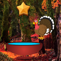 Free online flash games - Escape with Thanksgiving Maple Leaf