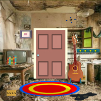 Free online flash games - GenieFunGames Spooky Room Door Escape
