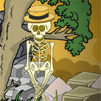 Free online flash games - G2J Escape The Skeleton
