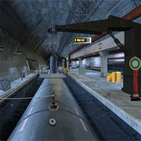 Free online flash games - Can You Escape Submarine Dock