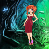 Free online flash games - Rescue Girl from Devil Forest