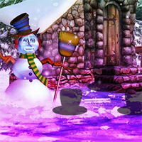 Free online flash games - Wow Fantasy Snowman World Escape