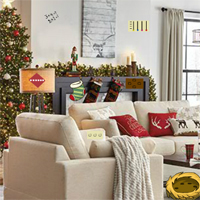 Free online flash games - GFG Christmas House Decorate Escape