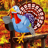 Free online flash games - Autumn Forest Turkey Escape