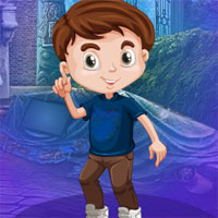 Free online flash games - G4K Serene Boy Escape