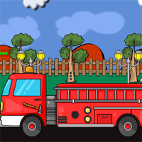 Free online flash games - Recover A Burning Car On Fire