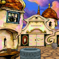 Free online flash games - G2J Escape with the Wagon