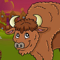 Free online flash games - G2J The Bison Escape