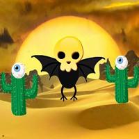 Free online html5 escape games - Halloween Desert 24 HTML5