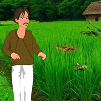 Free online flash games - Save The Farmer Land