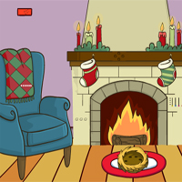 Free online flash games - Lovely Christmas Escape