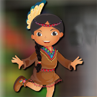 Free online flash games - AVMGames Dancing Tribe Girl Escape