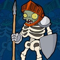 Free online flash games - G2J Zombie Warrior Escape