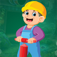 Free online flash games - Games4King Manual Labour Escape
