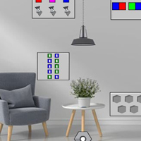 Free online flash games - G2J Escape From Black And White Avenue House