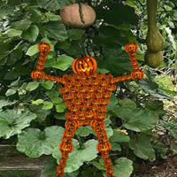 Free online flash games - Pumpkin Man Garden Escape