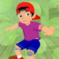 Free online flash games - Games4King Skater Boy Escape