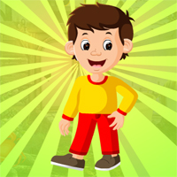 Free online flash games - Games4King Modeling Boy Escape