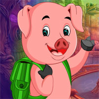Free online flash games - G4K Mini Escape Game Naughty Pig