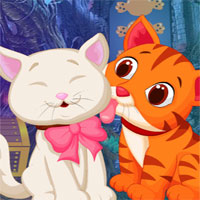 Free online flash games - G4K Cute Friends Rescue Escape