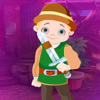 Free online flash games - G4K Intrepid Boy Escape