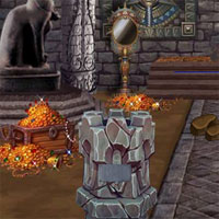 Free online flash games - Escape From Ancient Treasures House