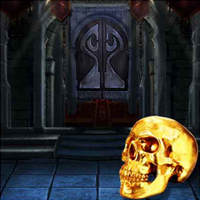Free online flash games - The Dark Night Skull Land