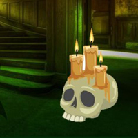 Free online flash games - Horror Candle House Escape