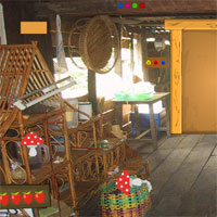 Free online flash games - GFG Colonial Wooden House Escape