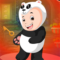Free online flash games - G4K Baby Panda Boy Escape