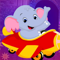 Free online flash games - G4K Sedate Elephant Cub