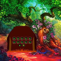 Free online flash games - Enchanted Flower Forest Escape