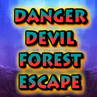 Free online flash games - Danger Devil Forest Escape