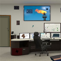 Free online flash games - Secruity Control Room Escape