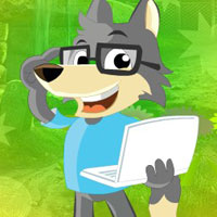 Free online flash games - G4K Fox Escape With Laptop