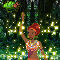 Free online flash games - Tribal Girl Forest Rescue