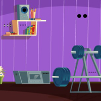 Free online flash games - GFG Private Fitness Room Escape