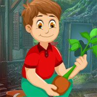 Free online flash games - Games4King Plants Lover Rescue Escape