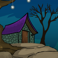 Free online flash games - Games4Escape Witch House Escape