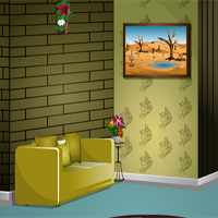 KnfGames Lovely Living Room Escape