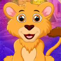 Free online flash games - G4k Majestic Lion Rescue